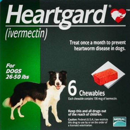 Heartgard Plus Medium - Ivermectin and Pyrantel Pamoate